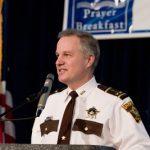Ramsey County Sheriff Matt Bostrom gave the Benediction...
