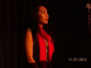 Charmaine Runes, speaker and soloist
